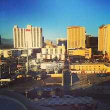 Photo: Downtown Vegas after class today.