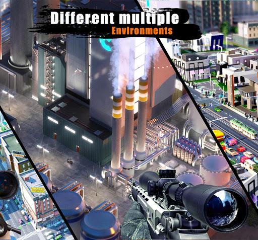 FPS Sniper 3D Gun Shooter Free Fire:Shooting Games  screenshots 8