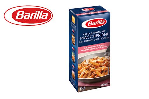 Bild für Cashback-Angebot: Barilla Pasta & Sauce - Maccheroni Tomate und Ricotta - Barilla