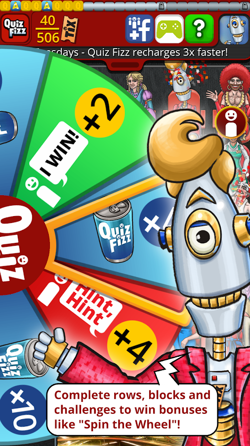 QuizTix: BBC Comedy Genius - TV Trivia Quiz Game- screenshot