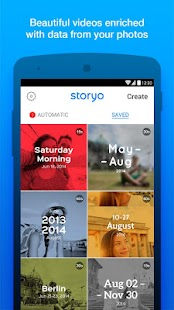 Storyo - Smart Video Memories- screenshot thumbnail