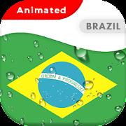 Brazil Flag Animated Live Wallpaper