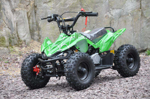 49cc sports raptor quad bike atv kids quad 2 stroke motoworks sale cheap offroad green