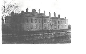 Photo: Fryston Hall, Castleford, home of Robert and Joyce Milnes, parents of Elizabeth Milnes who married Samuel Thornton
