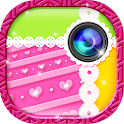 Cute Photo Grid Collage Maker icon