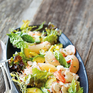 Lobster Salad with Grapefruit & Avocado.