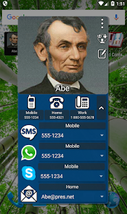 Mad Contacts Widget Screenshot
