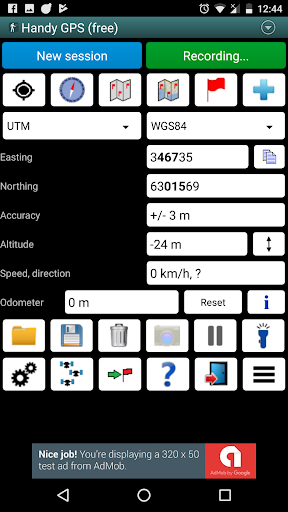 Handy GPS (free) 27.7 screenshots 1