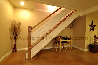 Photo: (After) Tarleki's Basement Stairs Collegeville, PA