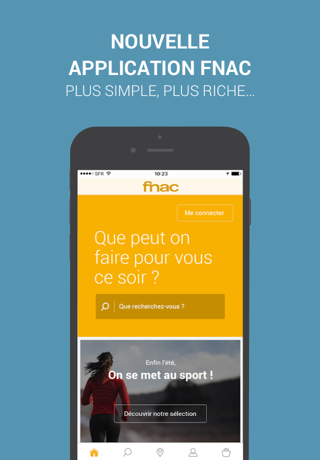 Fnac- screenshot