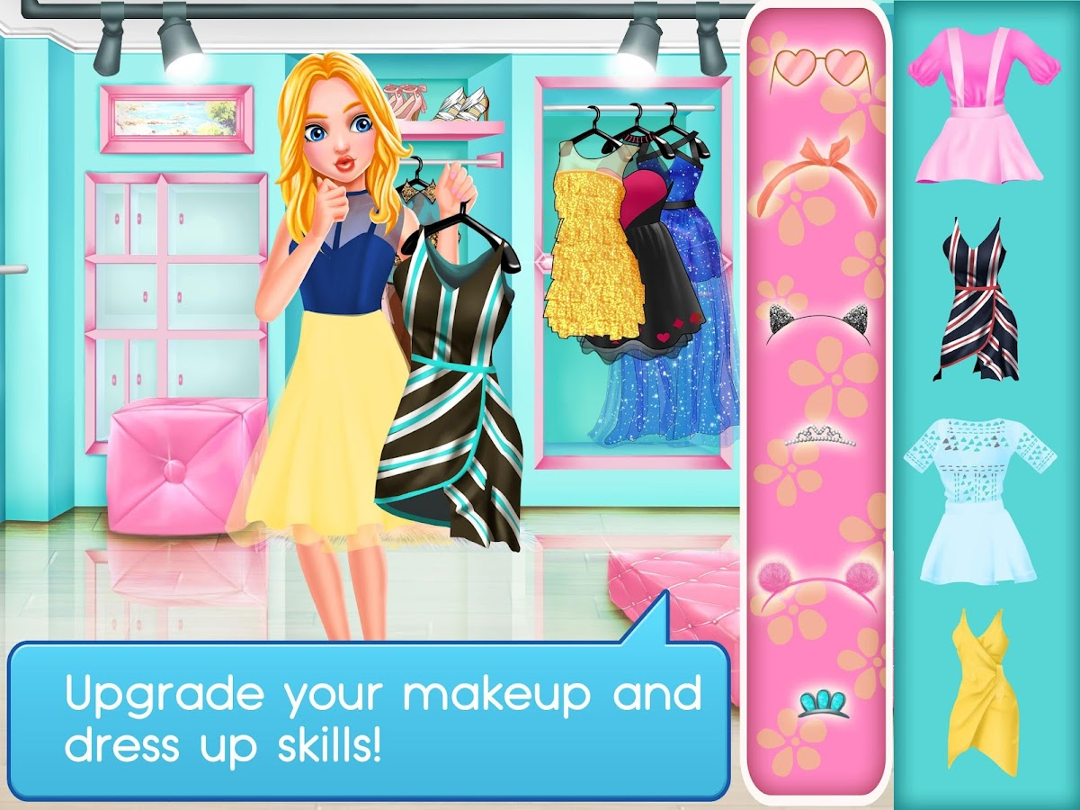 Selfie Queen Social Superstar: Girls Beauty Games- screenshot