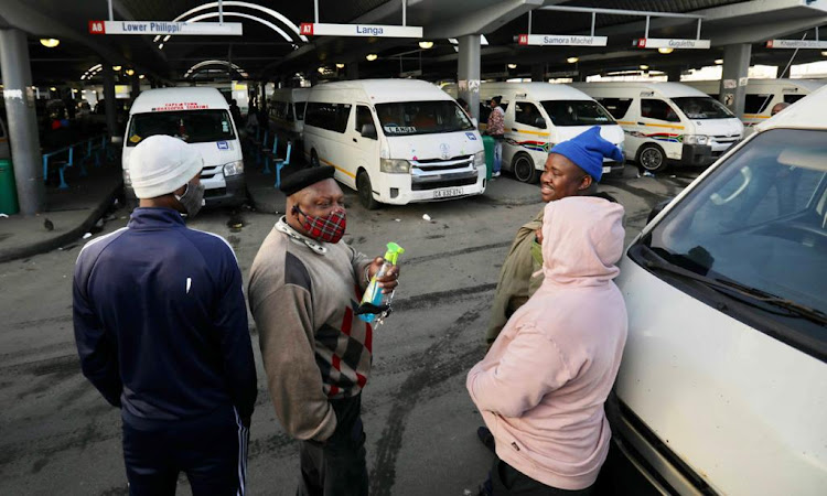 Commuters in the Western Cape have not been left stranded by the taxi industry as there is no shutdown in the province, unlike in Gauteng, where taxi drivers are striking on Monday, June 22 2020, after a stalemate with the government over the Covid-19 relief package for the industry.