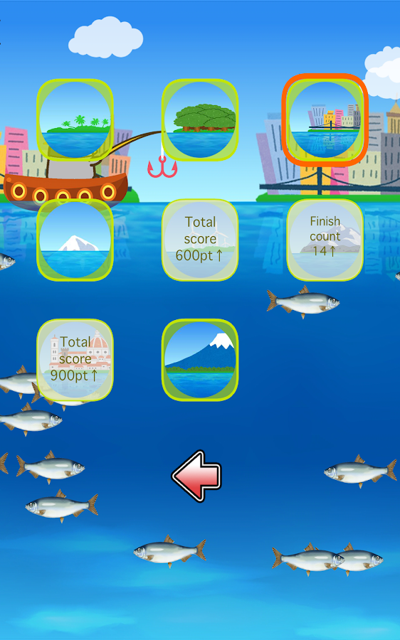 Fishing Game by Penguin- screenshot