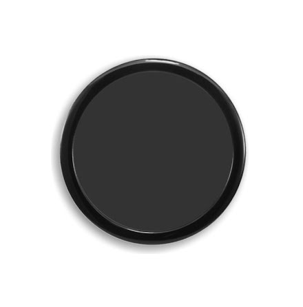 DEMCiflex magnetisk filter 180mm, rund, sort