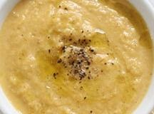 Roasted Cauliflower Turkey  Cheddar Chowder Recipe