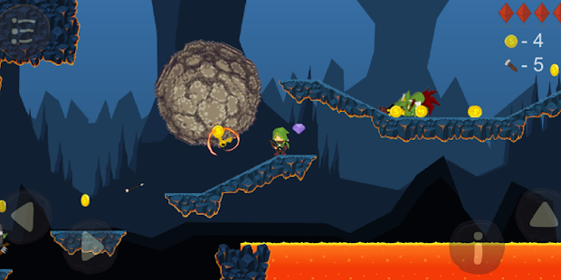 Evil Dungeon: Action 2D platformer Screenshot