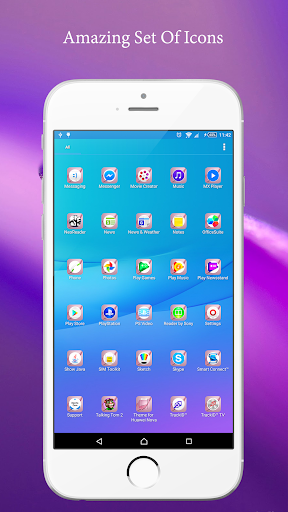 Theme for Huawei Nova 1.0.1 screenshots 3