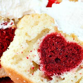 Surprise Inside Heart Cupcakes