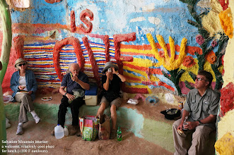 Photo: Salvation Mountain is open to the public with no admission fee.  Just drive up and walk around and inside.