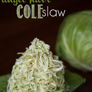 Angel Hair Coleslaw.