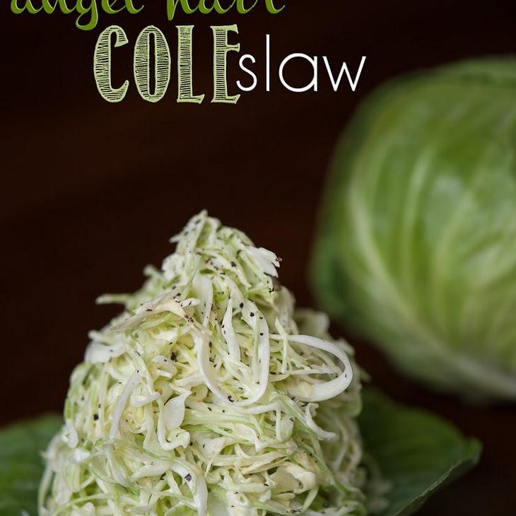 Angel Hair Coleslaw Recipe
