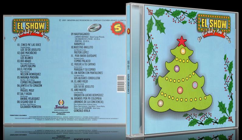 Varios Artistas - El Show De Navidad Y Año Nuevo 5 (2001) [MP3 @320 Kbps]