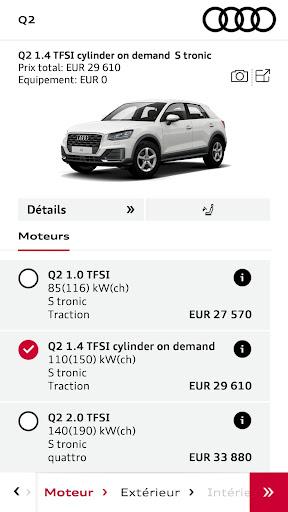 Audi Configurateur screenshot 3