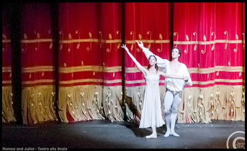Photo: Romeo and Juliet - Teatro alla Scala  Romeo: Gabriele Corrado, Juliet: Marta Romagna