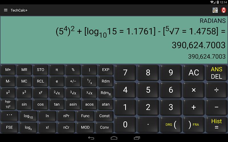 Scientific Calculator (adfree) Screenshot 8