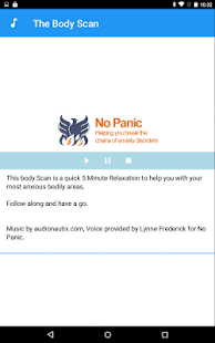 No Panic's Self Helper- screenshot thumbnail