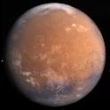 Planet Mars 3D live wallpaper icon