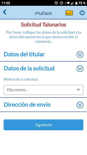 Muface Móvil screenshot 6