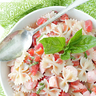 Bruschetta Pasta Salad Recipe