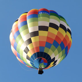 Balloon by Cliff Oakley - Transportation Airplanes ( sky, transport, air, travel, balloon )