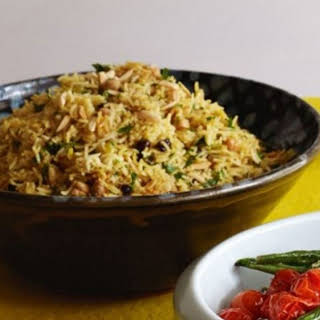 Chickpea And Rice Pilaf.
