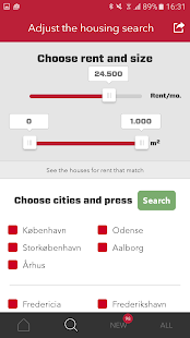Houses for rent in Denmark- screenshot thumbnail