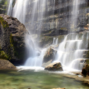 Water from the hills by Gil Reis - Landscapes Waterscapes ( water, hills, life, waterfalls, bio, nature, places, portugal )