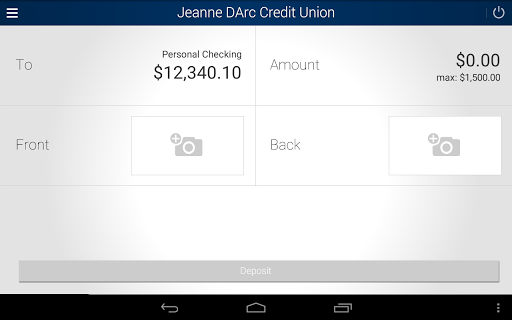 Jeanne D'Arc Mobile Banking screenshot 9