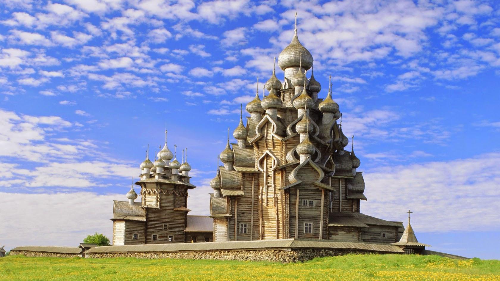 Кижи – Церковь Преображения Господня