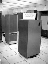 Photo: Memorex 1270 Transmission Control Unit, 2nd floor, Computing Center, University of Michigan, Ann Arbor, Michigan, USA, c. 1971