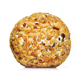 Pine Nut and Feta Cheese Ball.