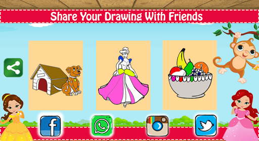 Coloring Book for Kids - Drawing & Learning Game 1.2 screenshots 5