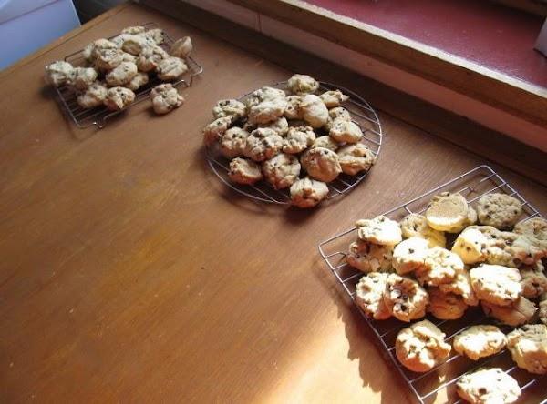DO NOT bake more than 10 mins a batch drys them out