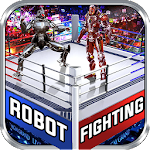 Real Robot Ring Fighting Icon