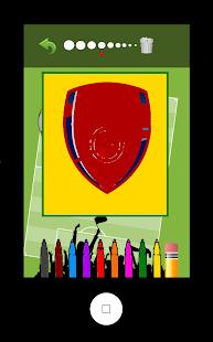 Football Logo Coloring Book screenshot 5
