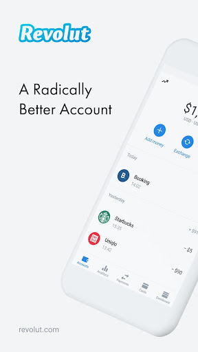Revolut - A Radically Better Account - screenshot