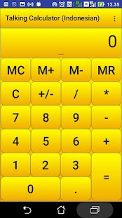 kalkulator berbicara - náhled