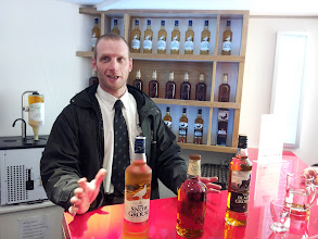 Photo: Next stop was a tour of Famous Grouse in Crieff, Perthshire, Scotland.
