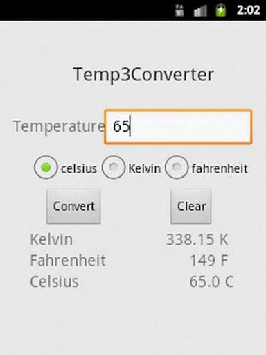 Temp3 Converter