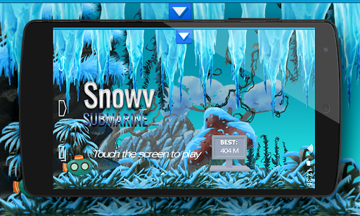 Snowy Submarine : 2D Game